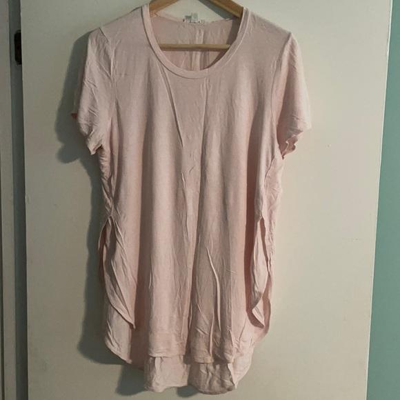 Wilfred Hi Lo Baby Pink Tshirt